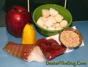 Healthy home cooking for dogs