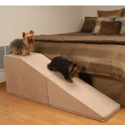 PuppyStairs 2-Piece Ramp with Cube