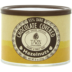 Taza Chocolate Chocolate Covered Hazelnuts