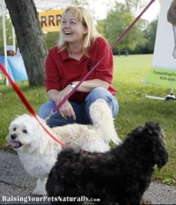 Giving a dog space