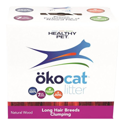 Healthy Pet okocat Natural Wood Litter