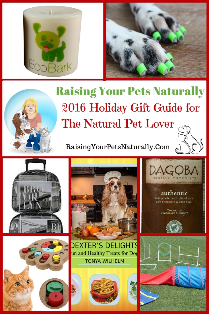 This holiday gift guide for 2016 is unique - only the best companies, brands, and products make the guide. If you are looking for unique Christmas gifts for dogs or fun Christmas gifts for cats, this pet gift guide is for you. But it's not just about our pets! You will find some of the best natural, healthy, and fun products for people too. I do hope you enjoy this unique gift guide.