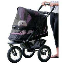 Pet Gear No-Zip NV Pet Stroller, with Zipperless Entry