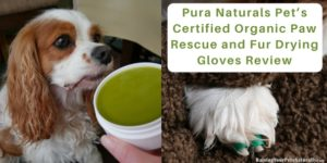Pura Naturals Pet's Certified Organic Paw Rescue and Fur Drying Gloves Review