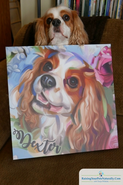 Custom Pet Portraits and Custom Pet Paintings and Digital Artwork. An Interview with Artist Wendy Beugels. #raisingyourpetsnaturally