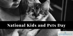 National Kids and Pets Day : Wordless Wednesday