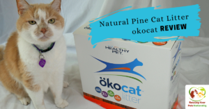 Natural Cat Litter Reviews : okocat | Choosing The Best Cat Litter for Your Cat