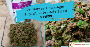 Dr. Harvey's Paradigm Superfood Pre-Mix Blend Review | Best Dog Food Mixes