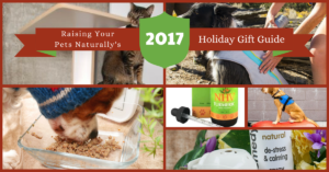 2017 Natural Pet Holiday Gift Guide for the Pet Lover