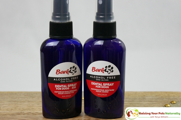 Dog Dental Care and Bark5 Dog Dental Spray Review. If you are looking for a natural dog cleaning system, you won't want to skip Bark5. #raisingyourpetsnaturally