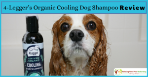 Natural Dog Shampoo Review: USDA Certified Organic Dog Shampoo with Peppermint and Tea Tree Oil by 4-Legger