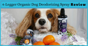 Organic Dog Perfume | 4-Legger USDA Certified Organic Dog Deodorizing Spray Review