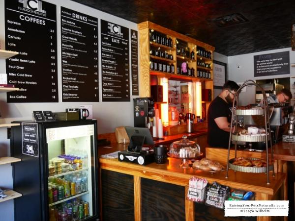 Dog friendly coffee bars