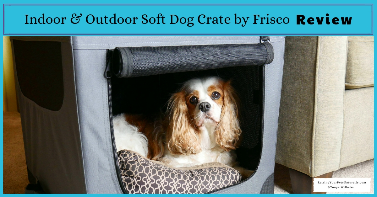 Soft-sided dog crate