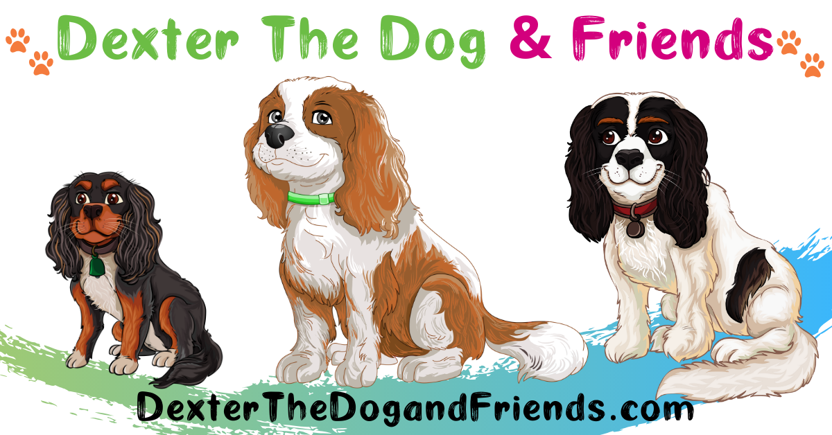 New children's book promotes acceptance, kindness, and positively through beautifully drawn dog characters. #DextertheDogandFriends #DexterTheDog