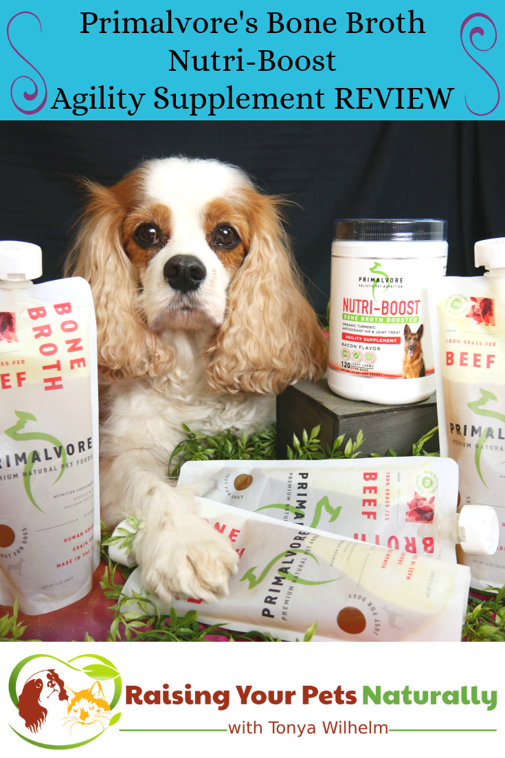 Natural dog joint supplements from Primalvore Holistic Pet Nutrition. If you are looking for the best dog supplements, you\'ll want to check out these bone broth boosted supplements. #raisingyourpetsnaturally #naturalpetsupplements #dogsupplements #dogjointsupplements #naturaldogsupplements #naturaldogjointsupplements #dogarthritis #olddogs #seniordogs #seniordogcare