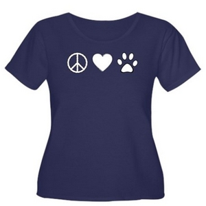 Peace love paw gift items